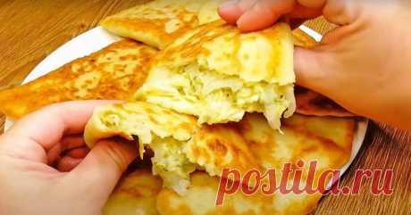Как приготовить картофельные пирожки с кабачком - Со Вкусом
