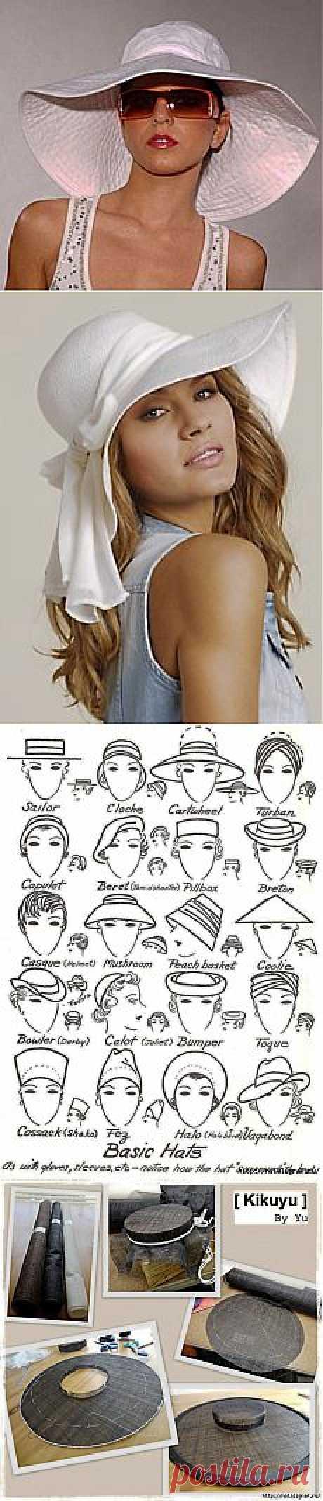 Шляпы, шляпки и панамы.