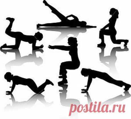 Лучшие домашние упражнения для похудения.