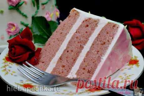 Торт клубнично-лимонный - рецепт с фото на Хлебопечка.ру