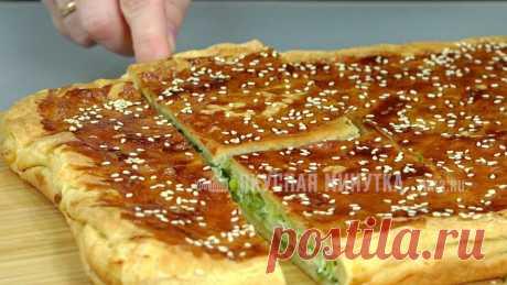 Пирог с зеленым луком: простой и вкусный