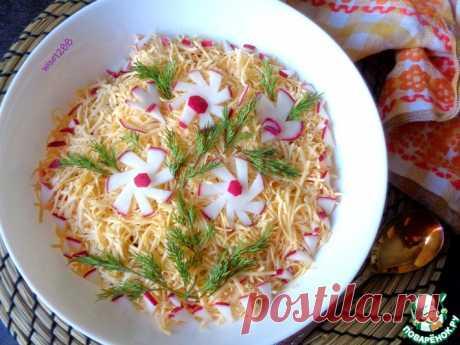 Салат «Во всей красе» Кулинарный рецепт