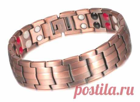 Медный магнитный браслет Фараон Магнитный браслет изготовлен из меди. Цвет браслета — античная бронза. Лечебный медный браслет содержит мощные неодимовые магниты.-1140 р