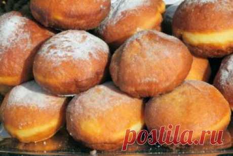 Берлинеры и пышки… Какими бывают пончики? — Готовим дома