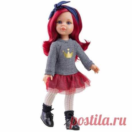 Кукла Paola Reina классическая - Даша с красными волосами (32 см) Paola  для девочки 4528498, купить за 3 349 руб. в интернет-магазине Berito