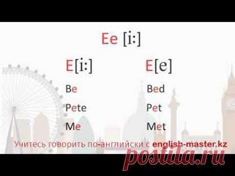 Как правильно читать гласные в английском языке