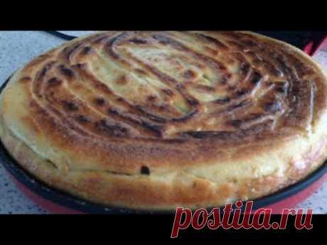 Пирог с капустой в пиццамейкере