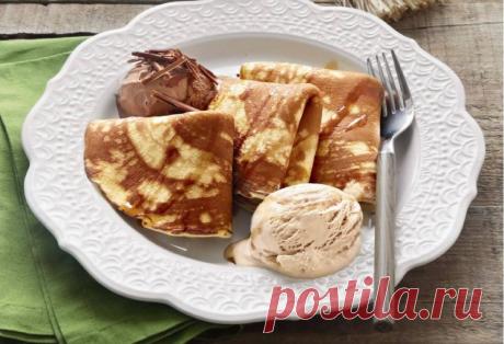 Рецепт блинчики «3 мороженых» | Молодой кондитер,старый кулинар | Яндекс Дзен