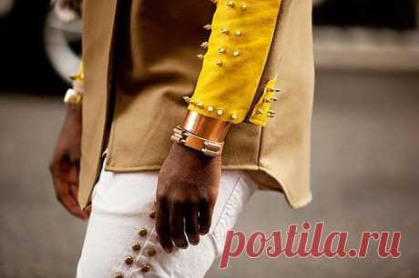 Шипованный / Street Style / Модный сайт о стильной переделке одежды и интерьера