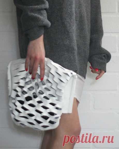 Мастер-класс по кройке и шитью кожаной сумки авоськи своими руками, выкройка с фотографиями, урок как сшить модную сумку