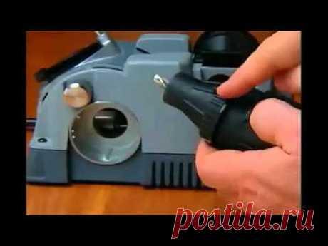 Заточка сверл Drill Doctor 750X - Яндекс.Видео