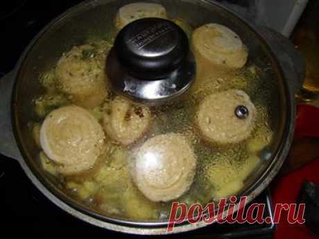 Рецепт: Немецкие галушки (Штрудель) - немецкая кухня, советы и отзывы, приготовить Второе блюдо дома