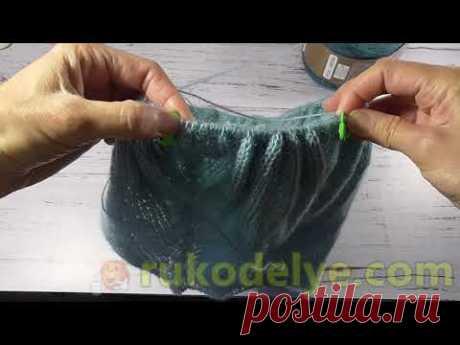 Пуловер Ombre Batik часть 2