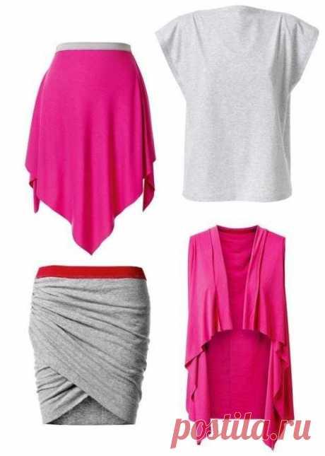 Суперлегко: шьем юбку, топ и жилет без выкройки - Сундук сокровищ - медиаплатформа МирТесен