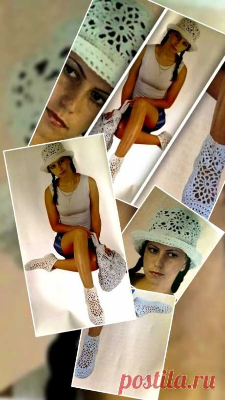 Вяжем крючком для летних дней: шляпка, туфли, рюкзачок | Левреткоман-оч.умелец | Яндекс Дзен