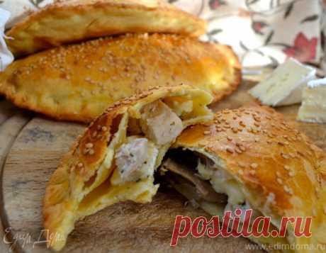 Пирожки с курицей и грибами | Официальный сайт кулинарных рецептов Юлии Высоцкой