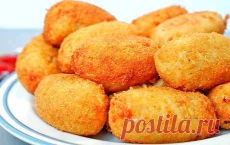 Картофельные пирожки с сосисками и сыром | Рецепты на SuperKuhen.ru