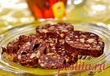 Шоколадная колбаска. Ностальгия по СССР.