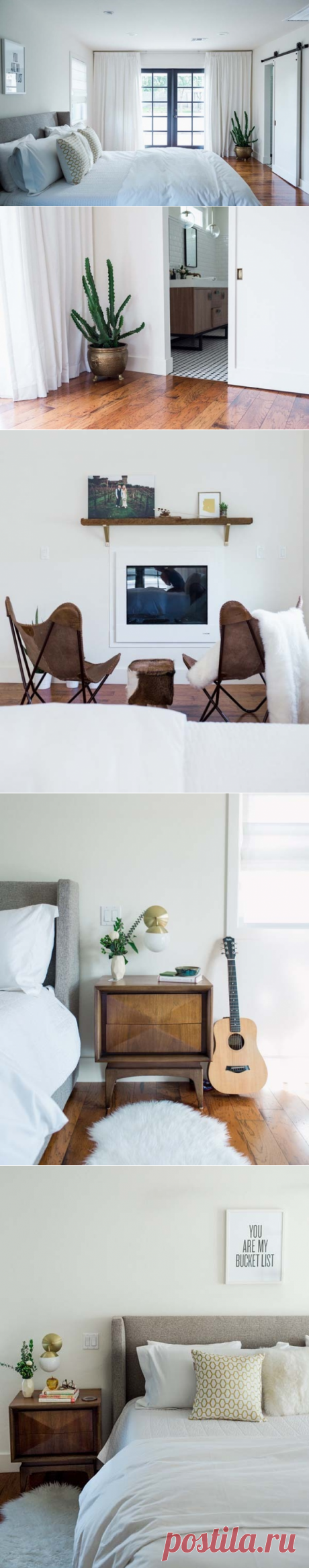 Как обустроить идеальную спальню: реальный пример | u