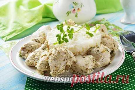 Куриное филе в кефире на сковороде рецепт с фото, как приготовить на Webspoon.ru