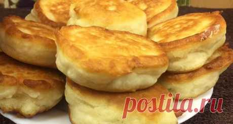 Magnificent fritters without eggs