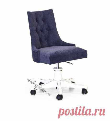 Мягкое кресло на колесиках Глори-4 для дома и офиса в наличие в Москве.