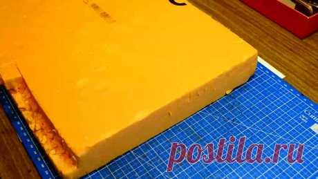 Как сделать дверь из пенопласта и картона? | Творим своими руками | Яндекс Дзен
