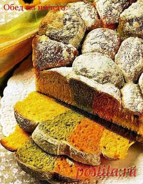Three-colored easter bread + 17 more recipes of bread | Obed from anything