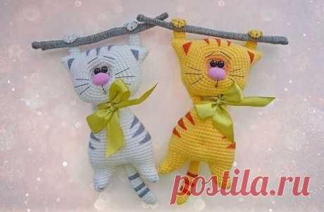 Котов много не бывает: обзор мк по вязанию | Амигуруми. Вяжу крючком | Яндекс Дзен