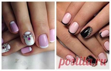 """Дизайн ногтей в стиле """"Френч"""" в разных стилях"""