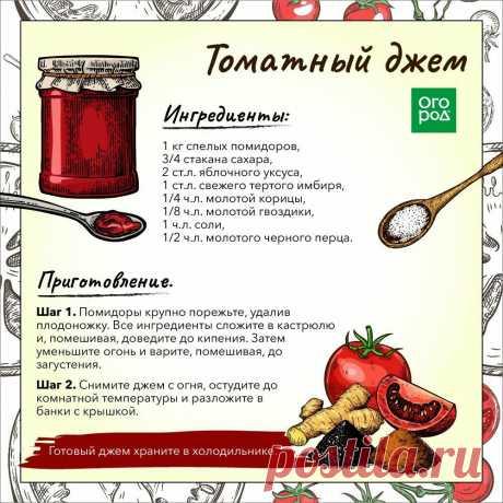 La mermelada de tomate