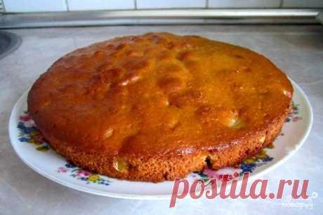 Яблочная шарлотка на скорую руку - пошаговый кулинарный рецепт с фото на Повар.ру