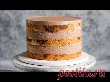 ШОКОЛАДНЫЙ ЙОГУРТ ✶ Очень ВКУСНЫЙ и ЛЁГКИЙ торт