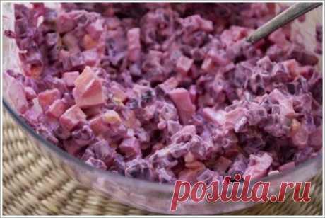 Интересные новости     Свекольный салат: правильная вкуснятина!  на 100грамм - 99.11 ккалБ/Ж/У - 8.01/4.87/5.82