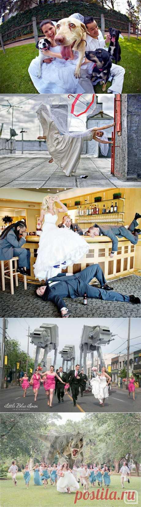 Обзор необычных свадебных фотографий | Фотография | Фотография