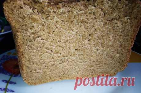 Рецепт ржаного хлеба в хлебопечке. Вкусный домашний хлеб