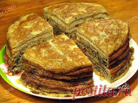 Креспу – французский торт из омлетов | Кашевар