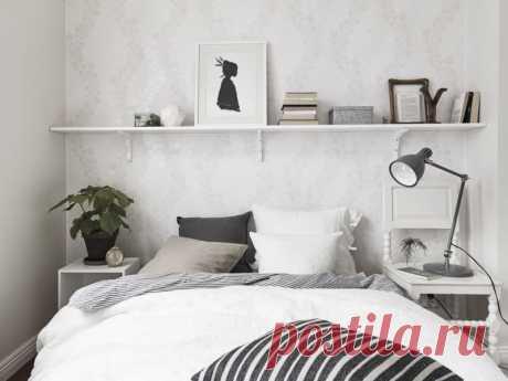 Спальня в скандинавском стиле - 100 фото вариантов идеального оформления