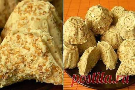 Традиционная индийская сладость: Кунжутное бурфи - Типичный Кулинар