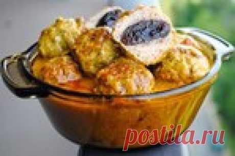 Индийские куриные тефтели с черносливом!