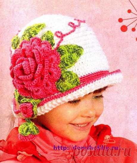 Шляпка «Аленький цветочек».