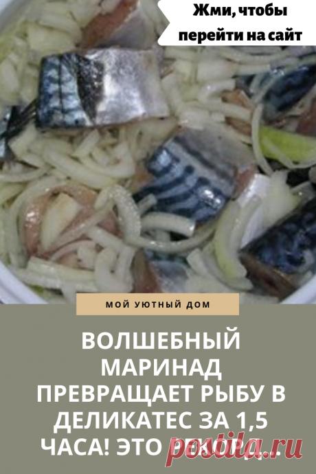 Готовим вкусный маринад для скумбрии