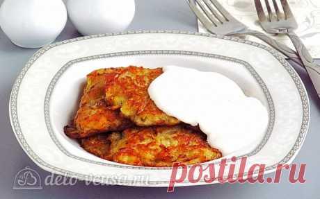 Драники с квашеной капустой по-белорусски, рецепт с фото