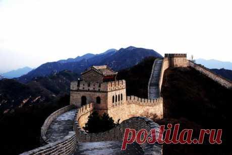 Великая Китайская стена в фотографиях