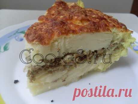 Картофельная запеканка с фаршем - Пошаговый рецепт с фото | Разное