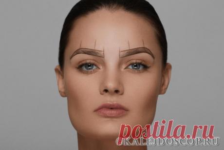 Как создать идеальные брови: ТОП-5 лайфхаков   Калейдоскоп