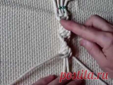 Узлы макраме Плоские узлы -часть2.mp4