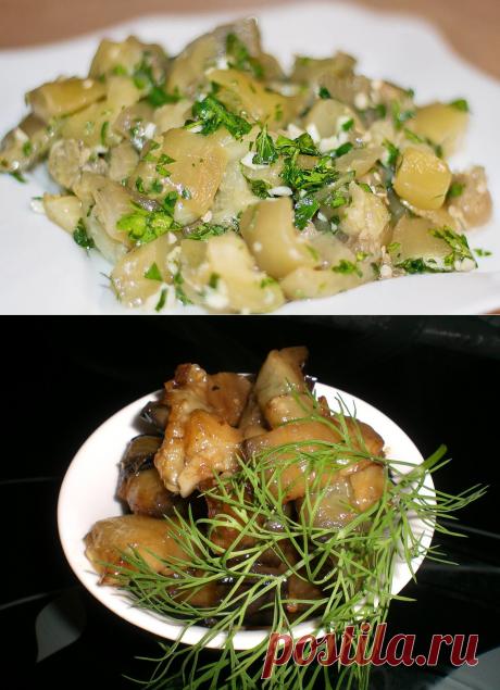 Маринованные баклажаны – пикантная и обалденно вкусная закуска | Кастрюлька | Яндекс Дзен