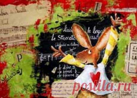 Мир детства и озорства от Карин Жанн. Открытая улыбка, прекрасное чувство юмора, обаяние, озорной внешний облик — все это о французской художнице Карин Жанн. И ее внутренняя суть находит отражение в ее творчестве – теплых и ярких картинах, возвращающих нас в счастливое, полное красок и приключений детство.