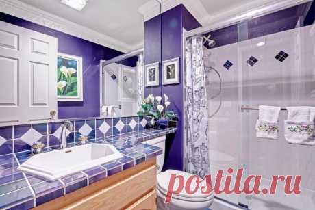 Цвета плитки: 90 фото стильных идей и комбинаций для ванной комнаты